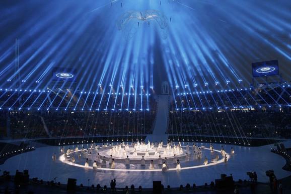 Detalj sa svečane ceremonije otvaranja Paraolimpijskih igara u Pjongčangu
