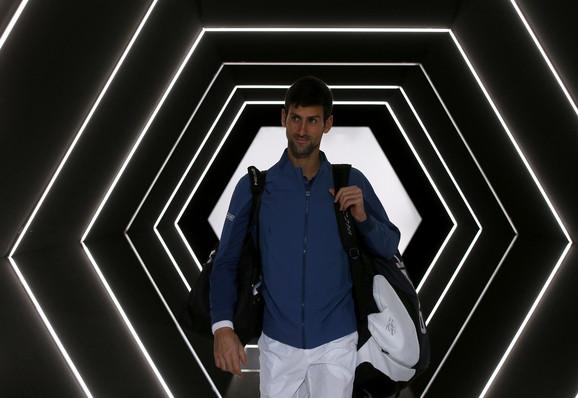 Prvi protivnik Novaka Đokovića u Londonu, u ponedeljak, biće Džon Izner