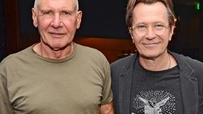 Łysy Harrison Ford na planie nowego filmu