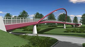 Śląskie: trzeci most połączył Cieszyn i Czeski Cieszyn