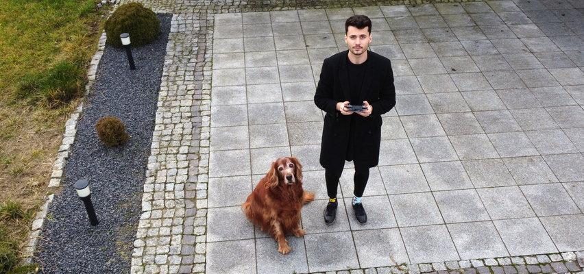 Student o wielkim sercu! Drukuje protezy dla okaleczonych psów