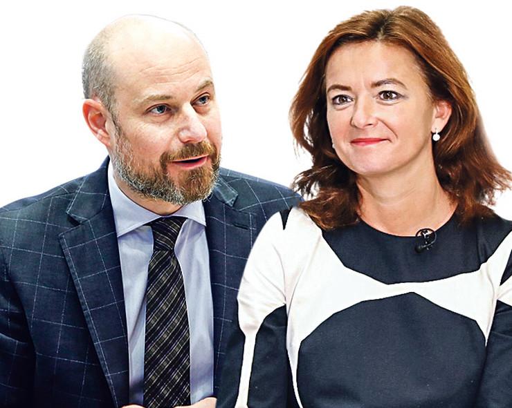 Tanja Fajon i Vladimir Bilčik, kombo