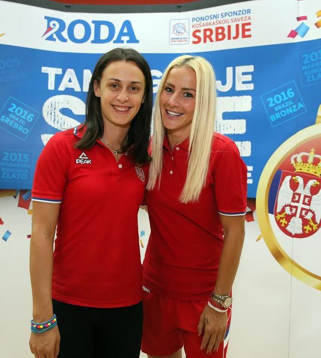 Tamara Radočaj i Milica Dabović