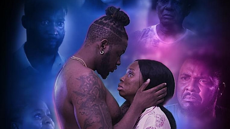Teddy A is playing an abusive lover in 'The Gift', which features him opposite his love interest and ex-housemate of the BBNaija 2018, BamBam
