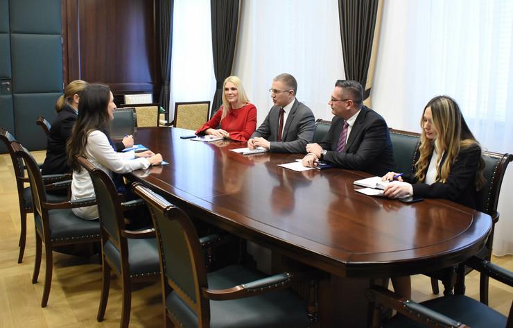 Ministar unutrašnjih poslova na sastanku sa UNICEFOM