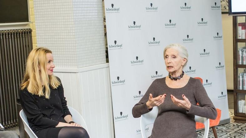 Spotkanie, podczas którego aktorka opowiadała gościom o swoich sposobach pielęgnacji włosów, odbyło się w warszawskim salonie Milek Design...