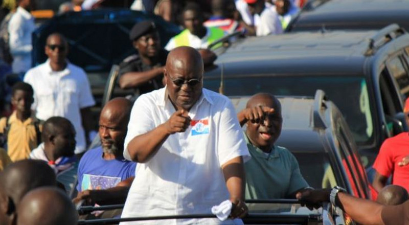 Mahama achieved nothing while in power – Akufo-Addo