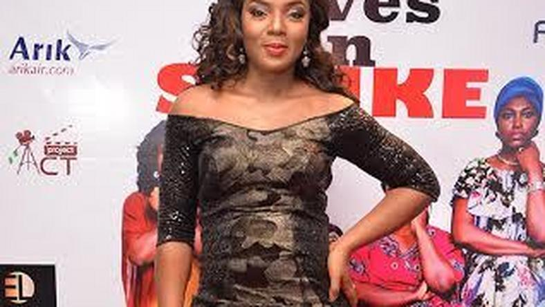 "Chioma Chukwuka at the ""Wives on Strike  premiere"
