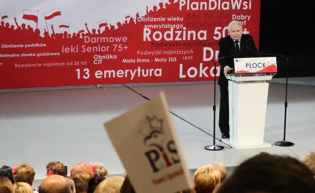 Prezes zapowiedział ustawy i programy, które zostaną uchwalone lub przyjęte w ciągu pierwszych 100 dni nowego rządu, jeśli PiS wygra wybory.