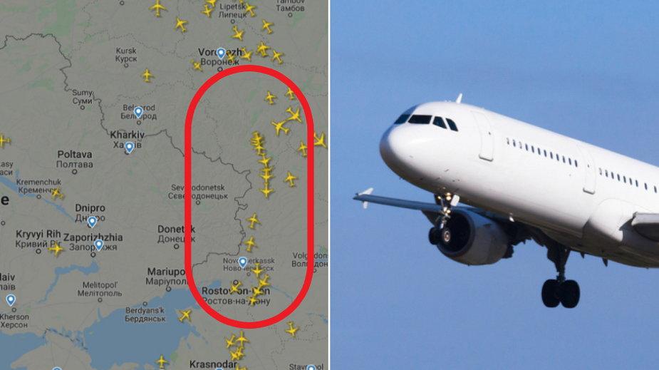 Ostrzeżenie dla samolotów pasażerskich