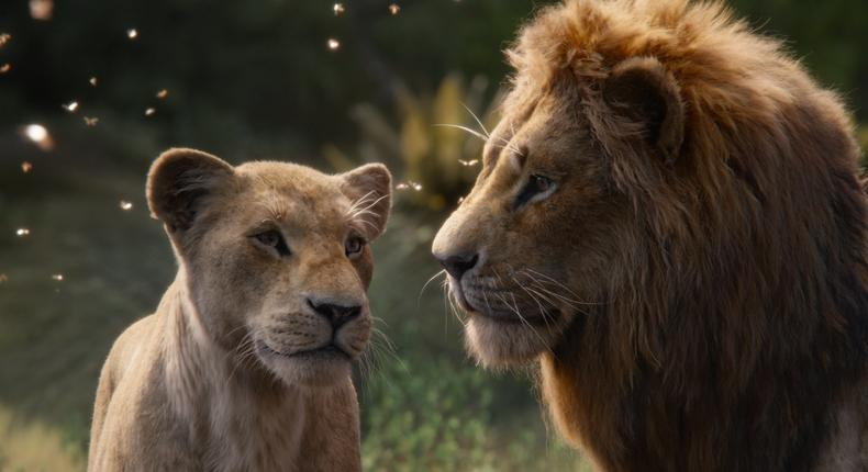 Lion King is the winner of the Nigerian box office for August 2019