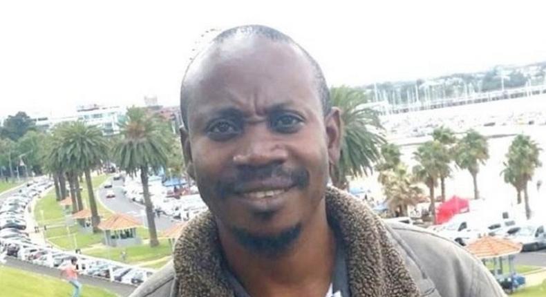 The suspect, Balenga Kalala