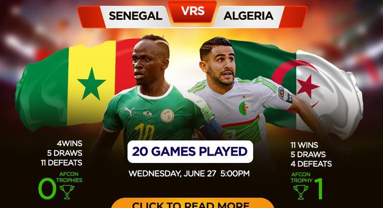 Senegal face Algeria in Group C top liner