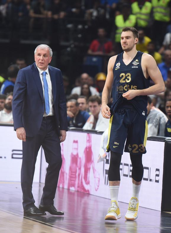 Željko Obradović i Marko Gudurić