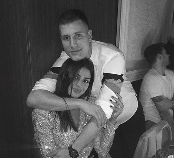 Mina Milutinović i Nemanja Nedović