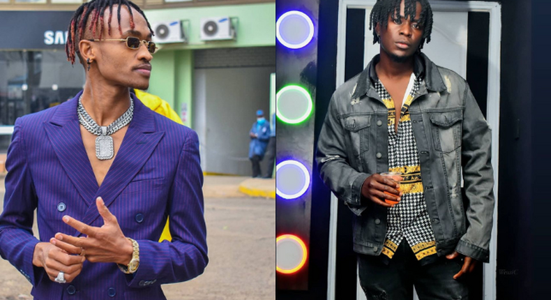 Willy Paul and his New signee Klons Kenya
