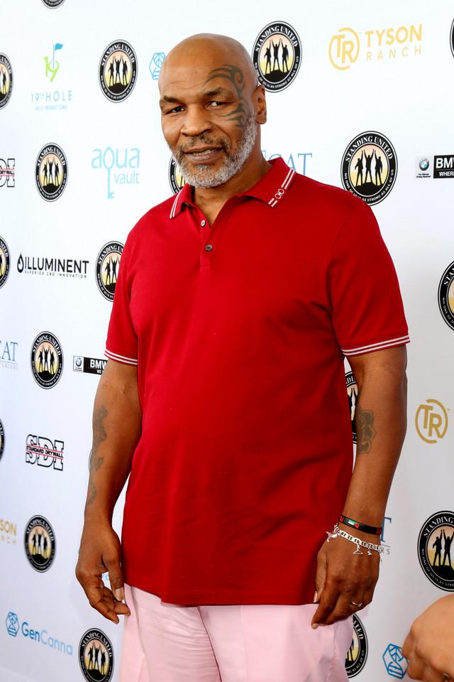 """Ranking """"najseksowniejszych łysiejących mężczyzn"""": Mike Tyson"""