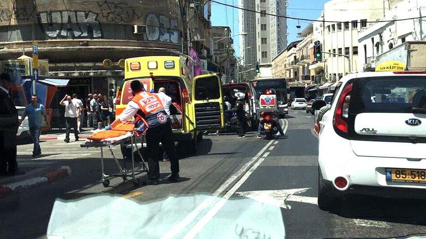 Samochód wjechał w tłum. Są ranni