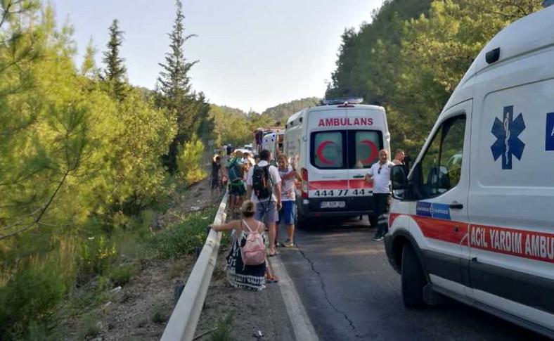 Polscy turyści poszkodowani w Turcji