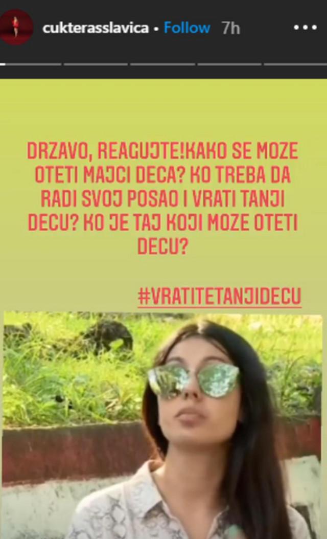 Slavića Ćukteraš, objava