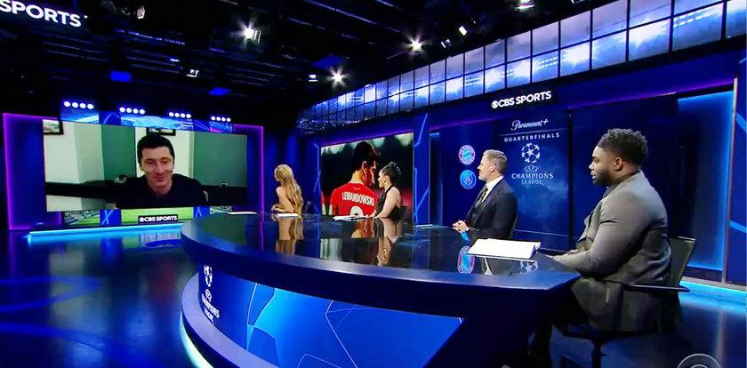 Córka Roberta Lewandowskiego przerwała jego wywiad. Zobaczcie reakcję piłkarza! [WIDEO]
