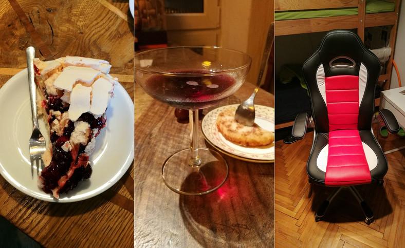 """Honor 8 od Huawei - po lewej: tryb """"smaczny posiłek"""" oraz zdjęcia przy sztucznym świetle"""