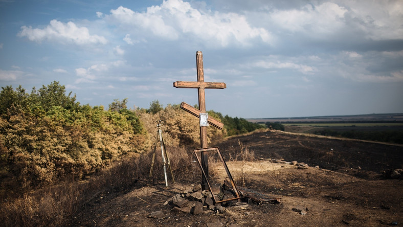 Potajemne pochówki Rosjan zabitych na Ukrainie