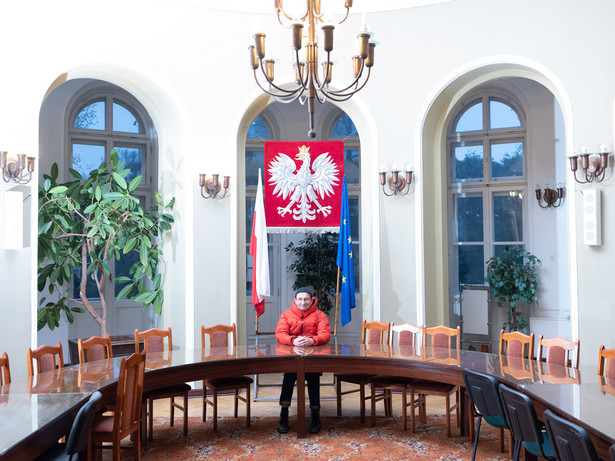 Robert Górski - satyryk, współtwórca Kabaretu Moralnego Niepokoju