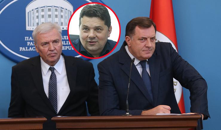 Marko Pavic Nenad Stevandic Milorad Dodik