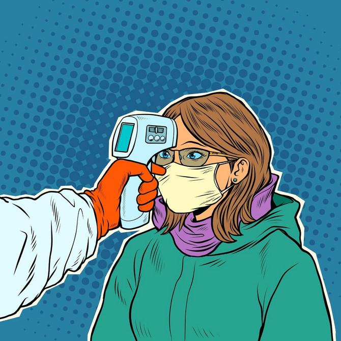 Dejstvo toplote na korona virus