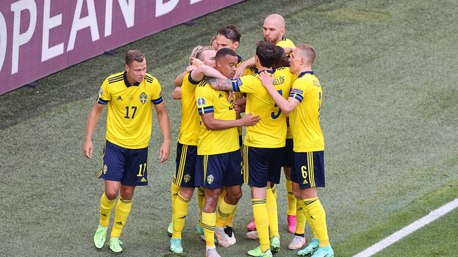 Radość reprezentantów Szwecji