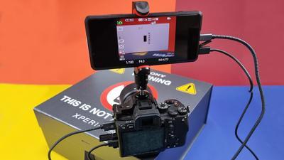 Sony Xperia Pro im Test: Externer Monitor, Live-Studio und Smartphone in Einem