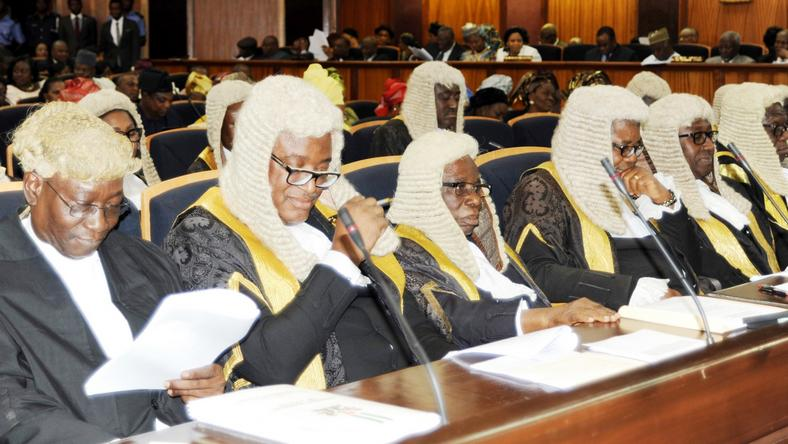 Cross section of Nigerian Judges