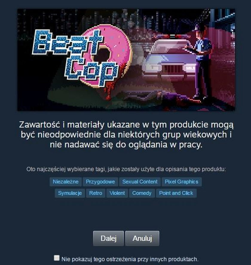 Recenzja gry Beat Cop