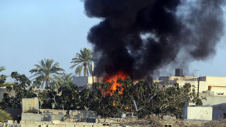 Trypolis w ogniu