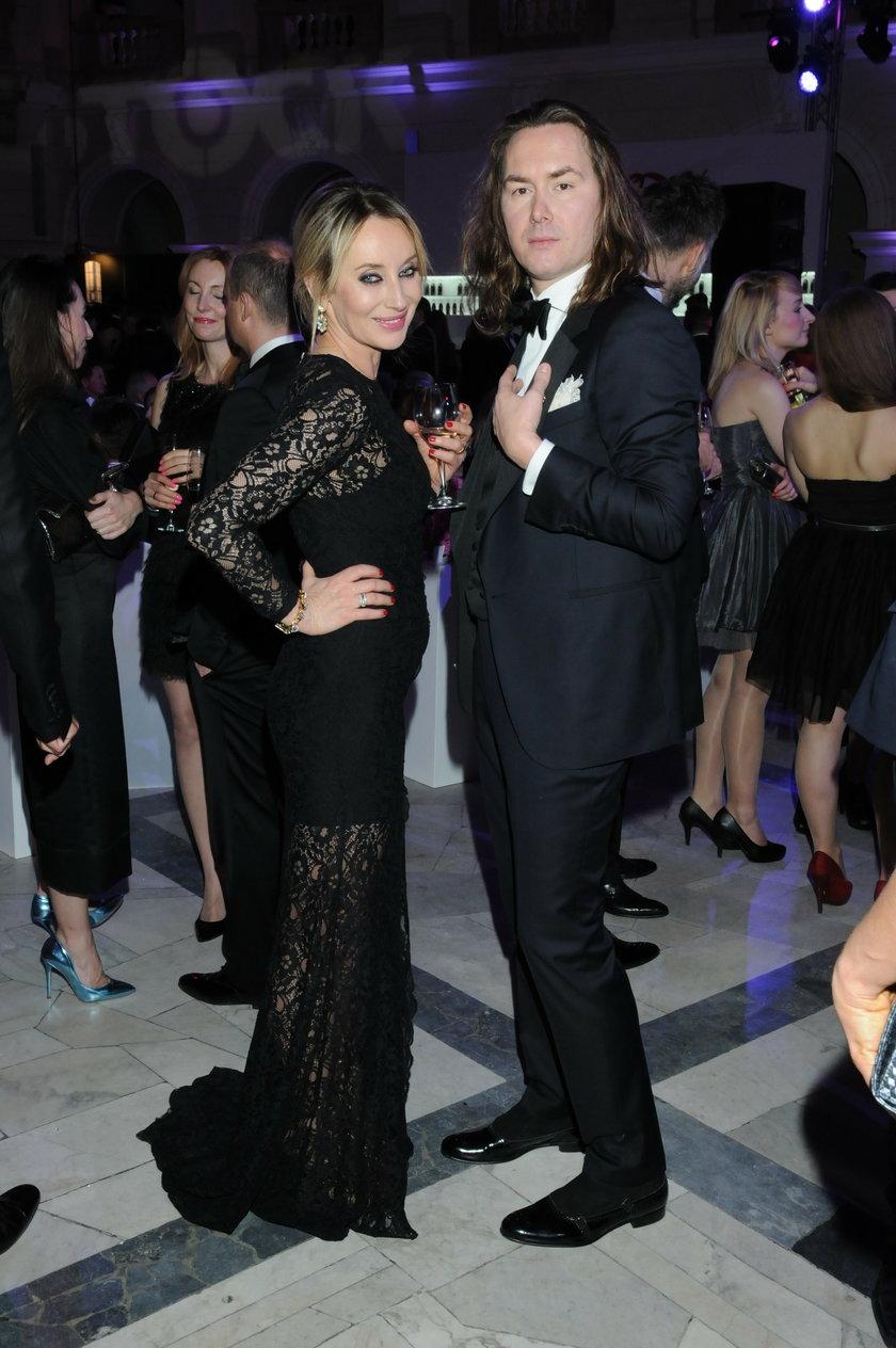 Tomasz Ossoliński i Dorota Williams