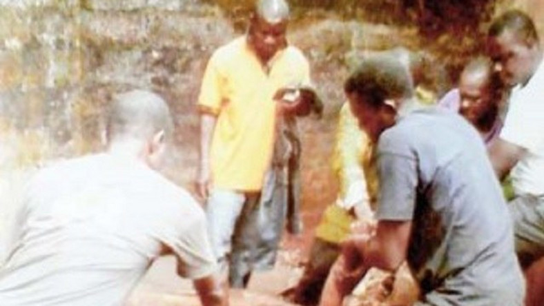 Tragedy Man runs amok, throws mother inside well, stones her to