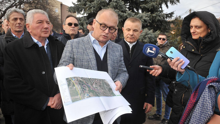 Goran Vesić kanalizacija Kneževac