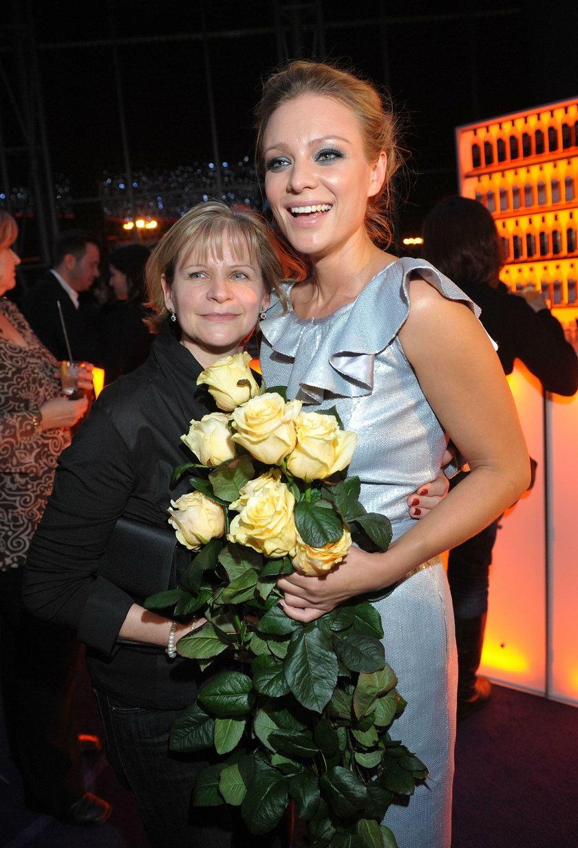 Magdalena Boczarska z mamą