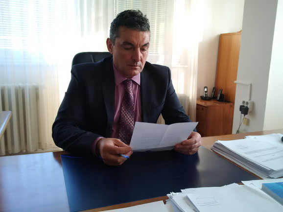 Direktor Ljubiša Milačić