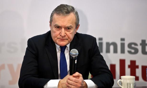 Minister Kultury wyjaśniał, że nie ma też jeszcze ostatecznej koncepcji dotyczącej finansowania mediów publicznych