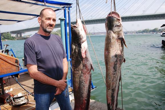 Aleksandar Hegediš, stručnjak za podvodni svet na Adi