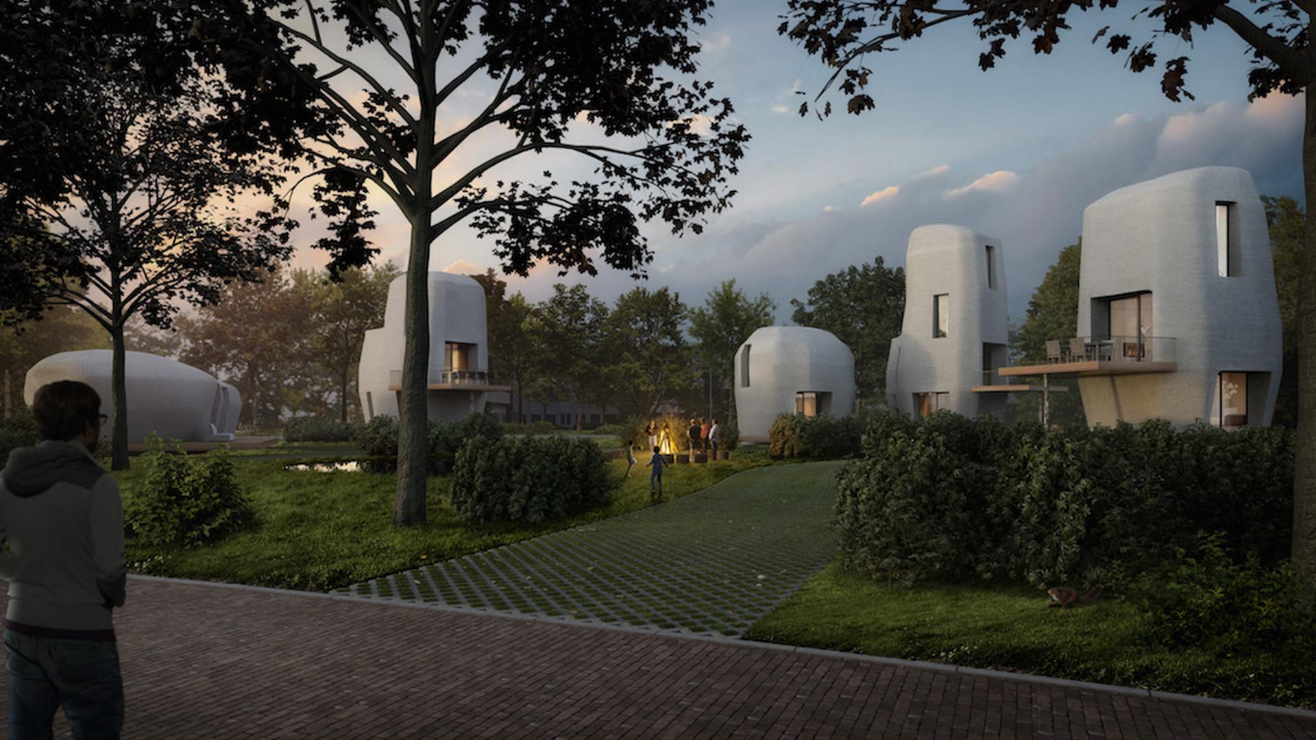 02d82f678 Holandsko sa stane raritou vo svete. Domy chcú stavať netradičnou metódou.  Mesto vytvorené 3D ...