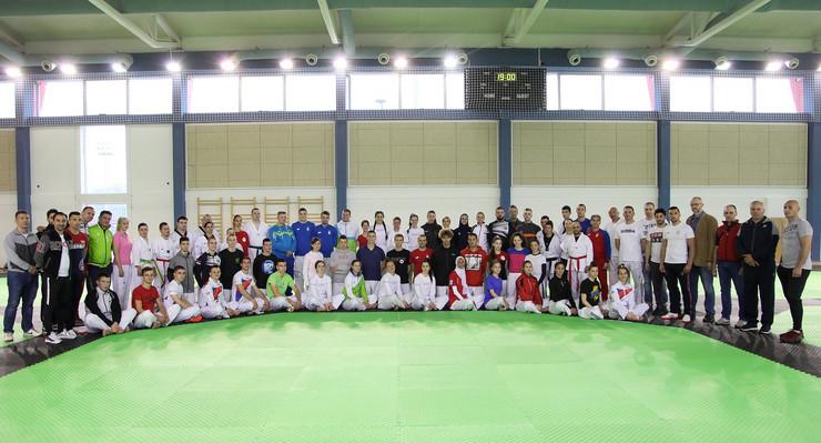 Tekvondo i paratekvondo reprezentacija Srbije