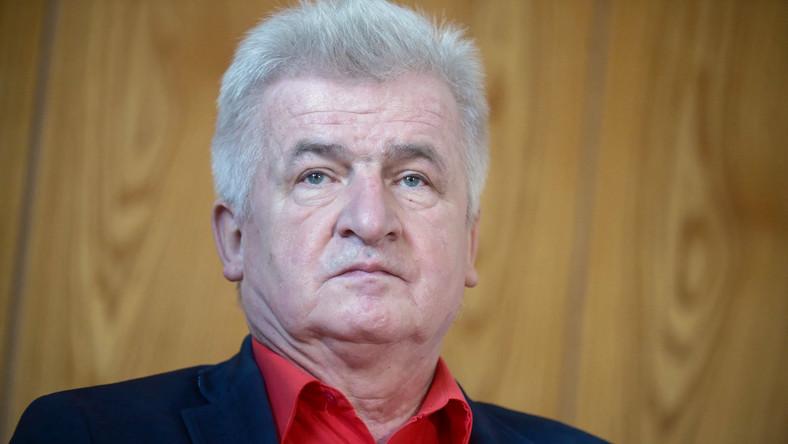 Przewodniczący Ruchu Sprawiedliwości Społecznej Piotr Ikonowicz