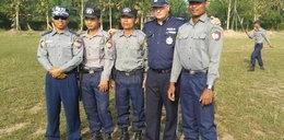 Poznański policjant w Azji