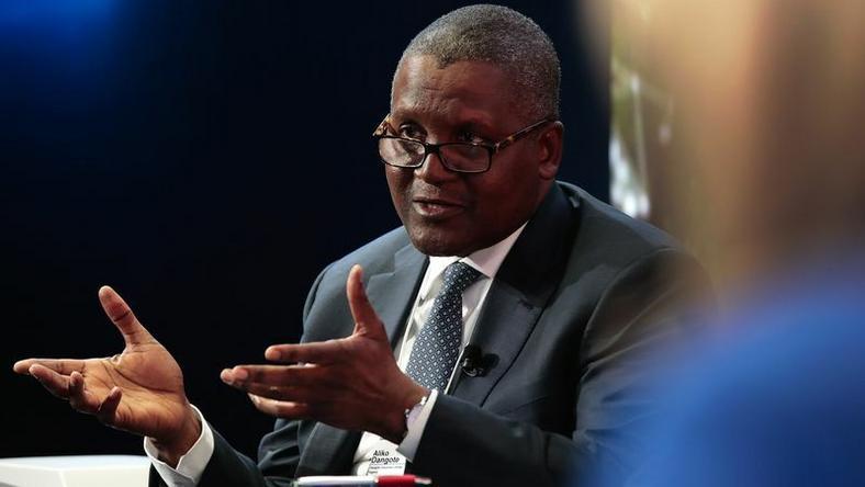 Africa's richest man, Aliko Dangote