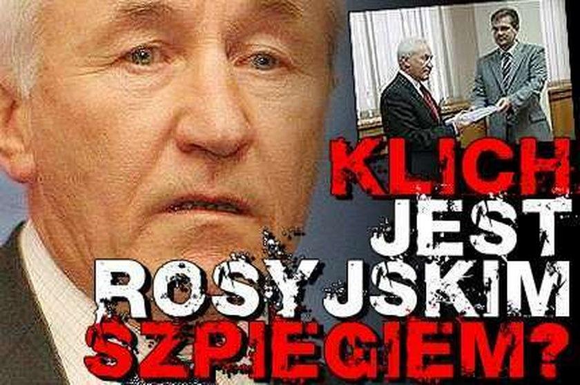 Klich rosyjskim szpiegiem?