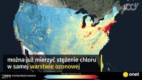 Sukces naukowego środowiska - dziura ozonowa coraz mniejsza