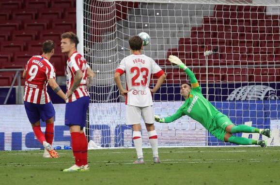 Alvaro Morata postiže prvi pogodak na meču protiv Majorke